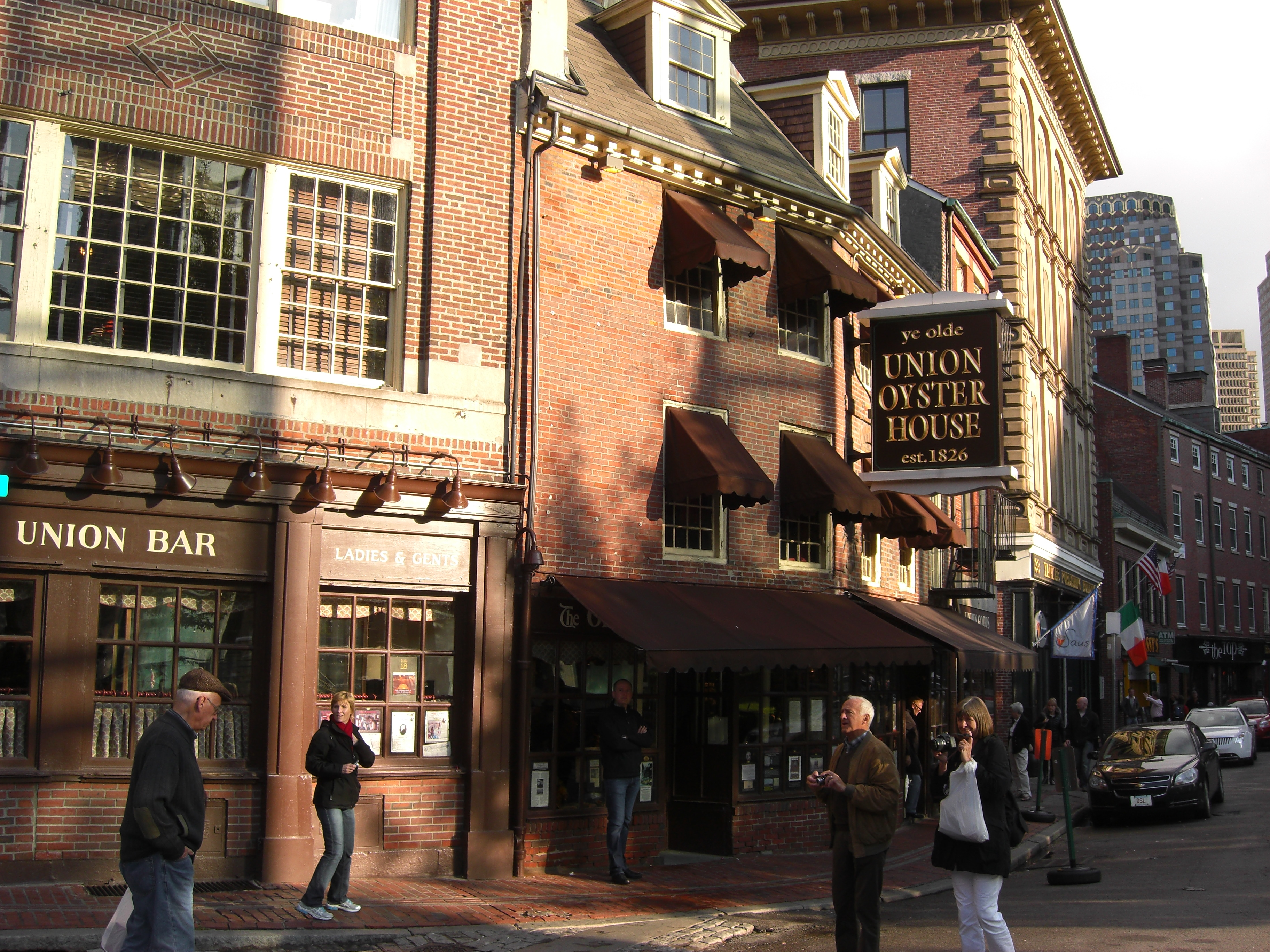 Union oyster house 41 union street boston ma for American cuisine boston